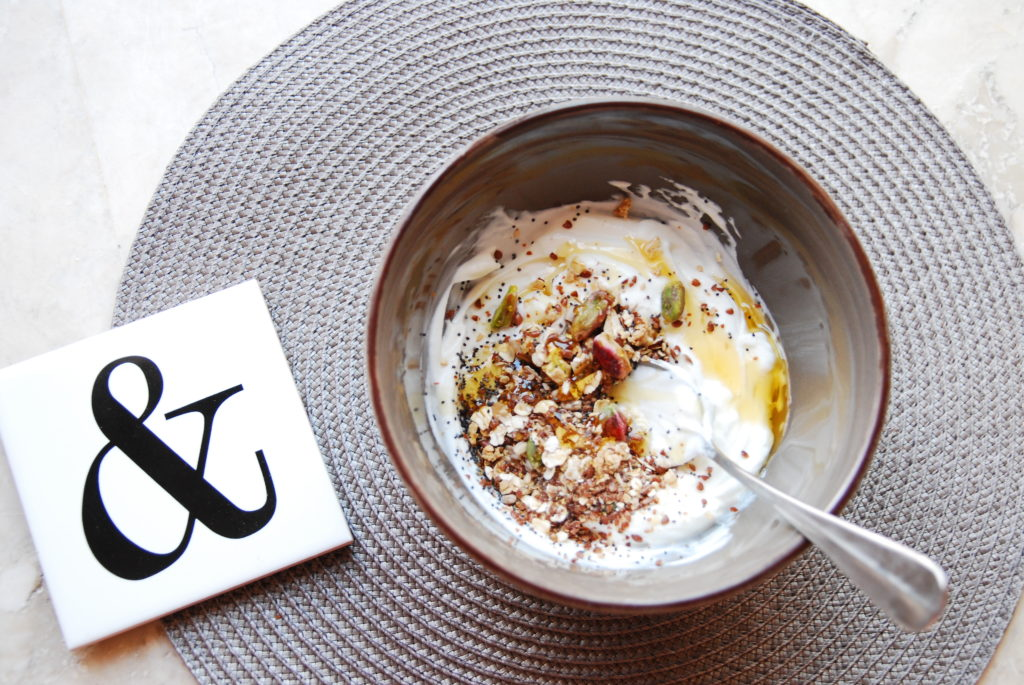 greek yoghurt mix