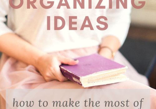 book organizing