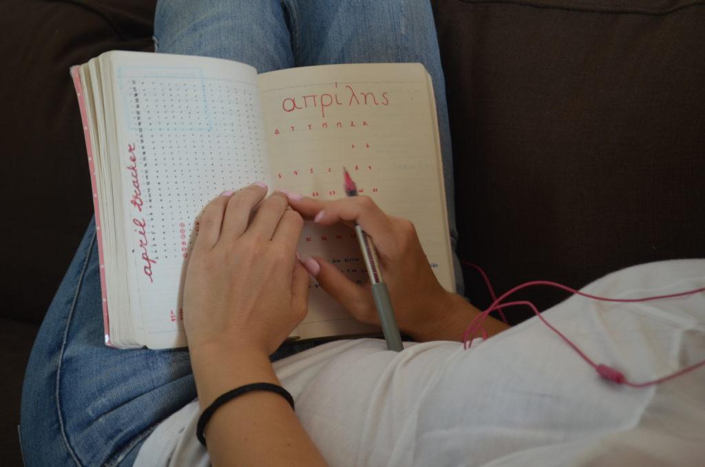 dot journalling