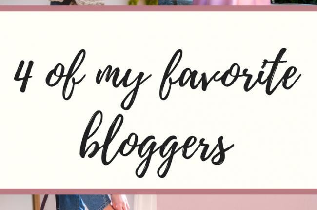 4-favorite-bloggers