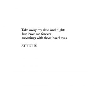 atticus poetry