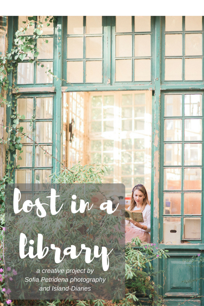 lost in a library