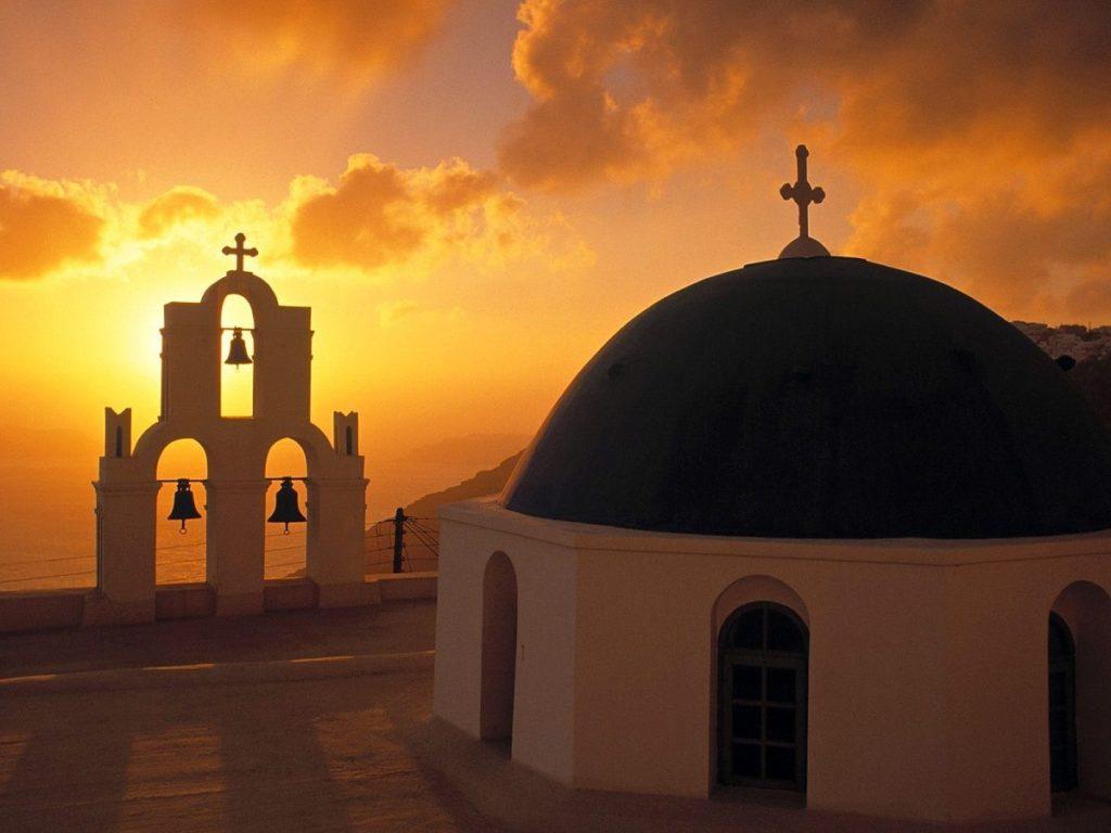 greek easter santorini
