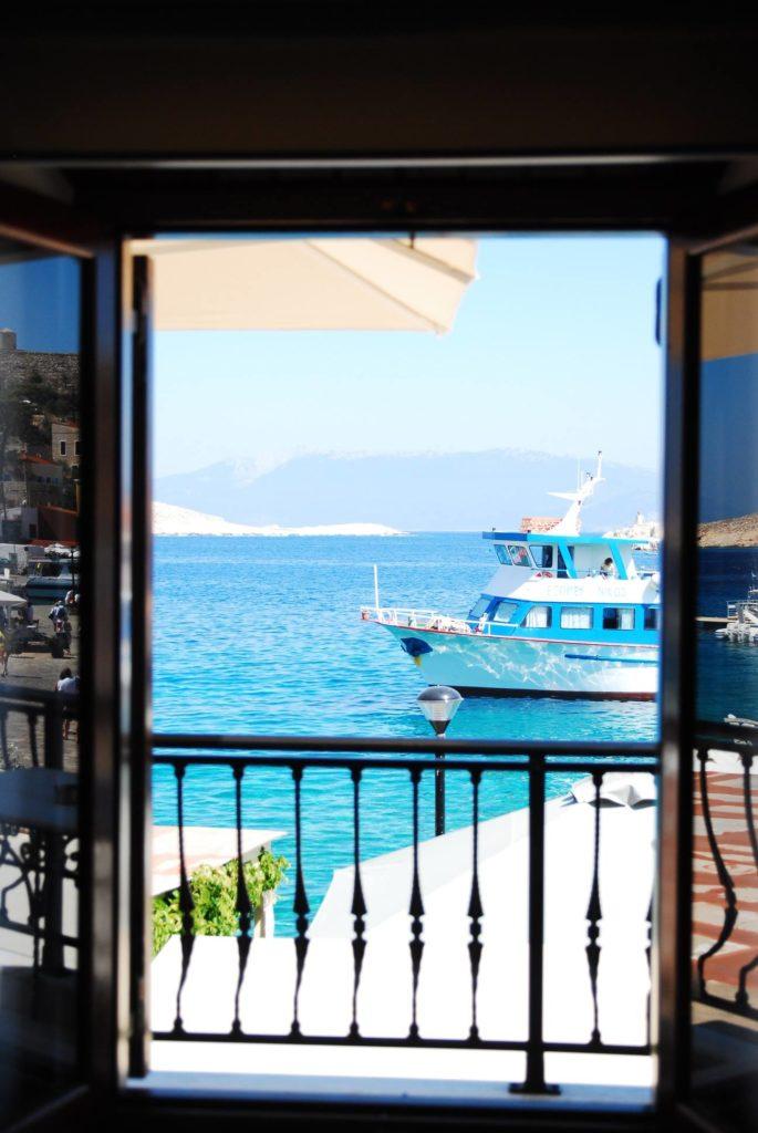 Halki port