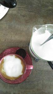 home made cappuccino