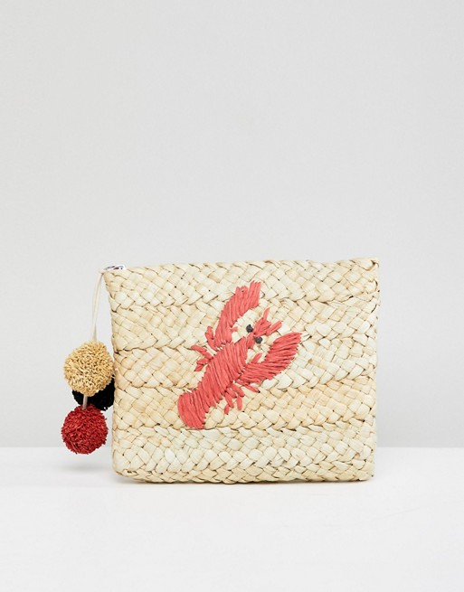 straw lobster bag